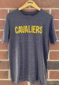 Cleveland Cavaliers Navy Blue Wordmark Fashion Tee