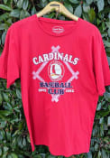 St Louis Cardinals Red Bases Loaded Fashion Tee