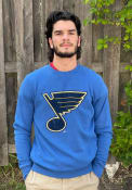 St Louis Blues Primary Logo Fashion Sweatshirt - Blue