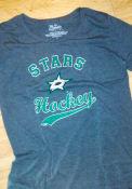 Dallas Stars Womens Triblend T-Shirt - Black