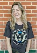 Philadelphia Union Team logo Fashion T Shirt - Navy Blue