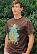 Missouri Keep It Reel Short Sleeve T-Shirt -Dark Chocolate