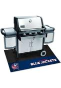 Columbus Blue Jackets 26x42 BBQ Grill Mat