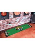 Jacksonville Jaguars 18x72 Putting Green Runner Interior Rug