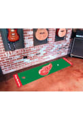 Detroit Red Wings 18x72 Putting Green Runner Interior Rug