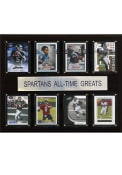 Michigan State Spartans 12x15 All-Time Greats Player Plaque