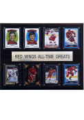 Detroit Red Wings 12x15 All-Time Greats Player Plaque