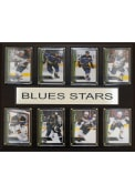 St Louis Blues 12x15 All Stars Plaque