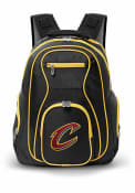 Cleveland Cavaliers 19 Laptop Yellow Trim Backpack - Black
