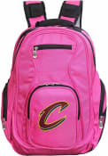 Cleveland Cavaliers 19 Laptop Backpack - Pink