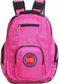 Detroit Pistons 19 Laptop Backpack - Pink