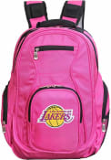 Los Angeles Lakers 19 Laptop Backpack - Pink