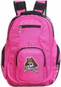 East Carolina Pirates 19 Laptop Backpack - Pink