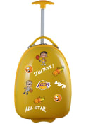 Los Angeles Lakers Yellow Kid Pod Luggage