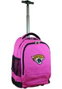 Jacksonville Jaguars Wheeled Premium Backpack - Pink