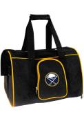 Buffalo Sabres Black 16 Pet Carrier Luggage