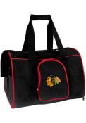 Chicago Blackhawks Black 16 Pet Carrier Luggage