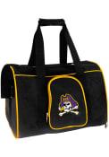 East Carolina Pirates Black 16 Pet Carrier Luggage