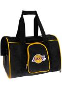 Los Angeles Lakers Black 16 Pet Carrier Luggage