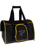 St Louis Blues Black 16 Pet Carrier Luggage