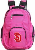 South Dakota Coyotes 19 Laptop Backpack - Pink