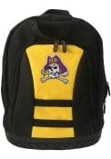 East Carolina Pirates 18 Tool Backpack - Yellow
