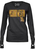 Missouri Western Griffons Girls Black Peterson Long Sleeve T-shirt