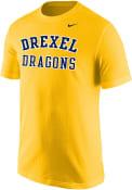 Nike Drexel Dragons Gold Arch Tee