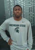 Michigan State Spartans Nike Legend Arch Mascot T-Shirt - Grey