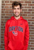 Dayton Flyers Nike Therma Hood - Red