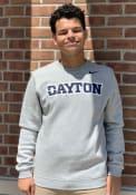 Dayton Flyers Nike Club Crew Sweatshirt - Grey