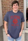 Dayton Flyers Nike Name Drop Basketball Fashion T Shirt - Navy Blue