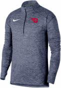 Dayton Flyers Nike Element 1/4 Zip Pullover - Navy Blue