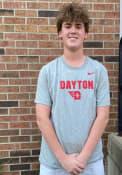 Dayton Flyers Nike Dri-FIT Flat Mascot T Shirt - Grey