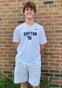 Dayton Flyers Nike Dri-FIT Flat Mascot T Shirt - White