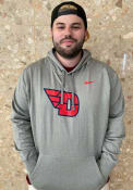 Dayton Flyers Nike Therma Essential Hood - Grey