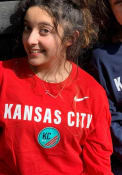 KC NWSL Nike Team Logo T Shirt - Red