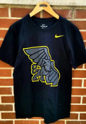 Nike Missouri Western Griffons Black Big Logo Tee