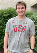 Team USA Nike Block T Shirt - Grey
