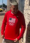 Team USA Nike Intensity Hood - Red