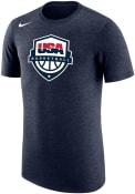 Team USA Nike Crest Fashion T Shirt - Navy Blue