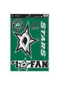 Dallas Stars 11x17 Multi Use Sheet Auto Decal - Green