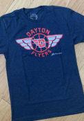 Dayton Flyers GV Art + Design Flyer Fashion T Shirt - Navy Blue