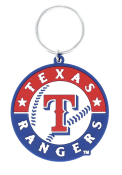 Texas Rangers PVC Keychain