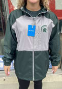 Michigan State Spartans Columbia Flash Forward Light Weight Jacket - Green