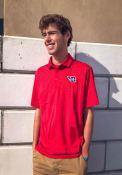 Dayton Flyers Columbia Sunday Polo Shirt - Red