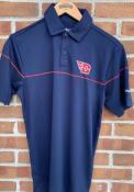 Dayton Flyers Columbia Breaker Polo Shirt - Navy Blue