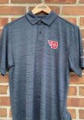 Dayton Flyers Columbia Set Polo Shirt - Navy Blue