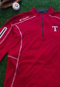 Texas Rangers Columbia Shotgun 1/4 Zip Pullover - Red