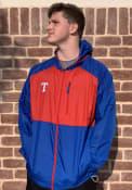 Texas Rangers Columbia Flash Forward Light Weight Jacket - Blue